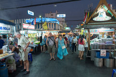 Рынок ночи Hua Hin Стоковое Фото