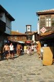 рынок острова Болгарии nesebar стоковое изображение rf