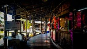 Рынок Паттайя плавая Стоковая Фотография RF