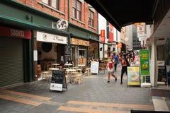 Рынок - переулок Стоковые Фото