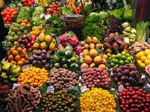 рынок плодоовощей стоковые фото