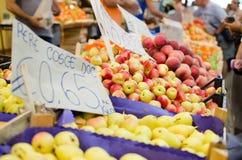 Рынок плодоовощ Стоковые Изображения RF