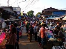 Рынок понедельник стоковое изображение