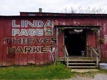 Рынок похитителей страницы, устанавливает приятное, SC Стоковое Фото