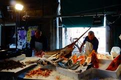 Рынок продукта моря Венеции Стоковые Фотографии RF