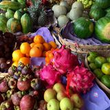 Рынок плодоовощей Стоковое фото RF