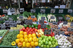 Рынок плодоовощ в вене Стоковая Фотография RF