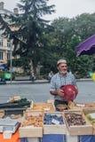 Рынок плодоовощ в Тулуза Стоковые Фотографии RF