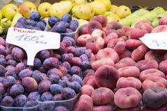 Рынок плодоовощ Стоковые Фото