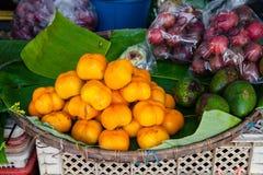 Рынок плодоовощ Стоковое фото RF