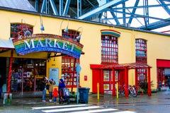 Рынок ребенк, остров Granville Стоковые Изображения RF