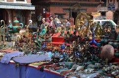 Рынок ремесленничества в Patan Стоковая Фотография RF