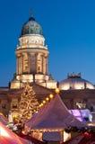 Рынок рождества в Берлин, Германии Стоковые Фотографии RF