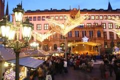 рынок рождества стоковые фотографии rf