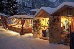 рынок рождества Стоковая Фотография