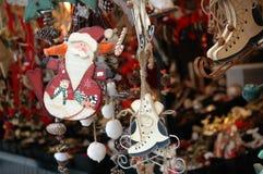 Рынок рождества Стоковое Фото