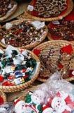 Рынок рождества Стоковые Изображения RF