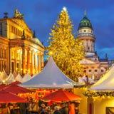 рынок рождества berlin стоковое фото