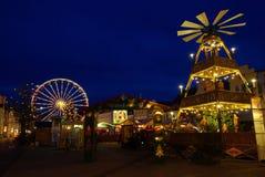 Рынок рождества Cottbus Стоковое Фото