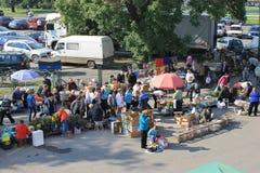 Рынок сезона Стоковые Фотографии RF