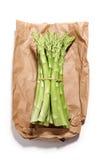 рынок спаржи свежий зеленый Стоковое фото RF