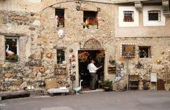 Рынок старой деревни Carona Стоковое Изображение