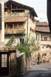 Рынок старой деревни Carona Стоковое фото RF