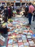 Рынок старых книг стоковая фотография rf