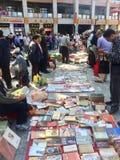 Рынок старых книг стоковое изображение