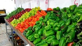 Рынок стойки овощей Стоковая Фотография RF