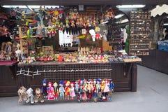 Рынок улицы в Праге стоковая фотография rf