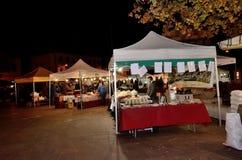 Рынок улиц рождества стоковая фотография rf