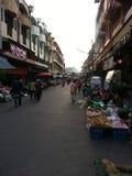 Рынок утра в районе Muang Стоковые Изображения RF