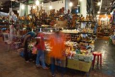 Рынок улицы ночи Стоковое Фото