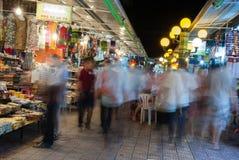 Рынок улицы ночи Стоковая Фотография RF