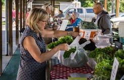 Рынок фермеров Салема Стоковое Фото