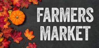 Рынок фермеров Стоковая Фотография
