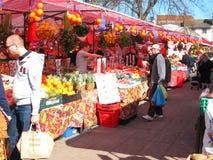 Рынок фрукта и овоща. Стоковые Фотографии RF
