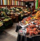 Рынок фруктов и овощей Стоковое Изображение