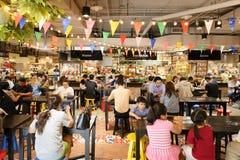 Рынок фуд-корт Стоковая Фотография RF