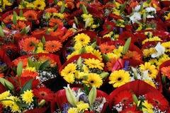 рынок цветка Стоковые Фото