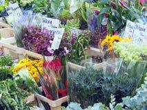 Рынок цветка Стоковое Изображение
