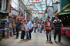 Рынок Чайна-тауна Стоковое Изображение