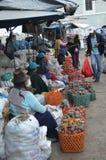 Рынок эквадора Стоковая Фотография RF