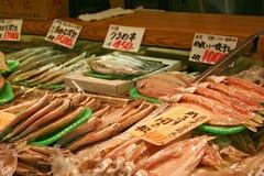 рынок японца рыб стоковые фото