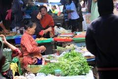 Рынок деревни Стоковое фото RF