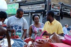 Рынок 2 майны кирпича Стоковые Фото