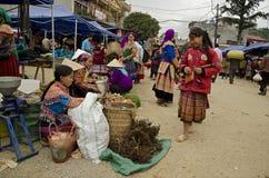 Рынок Bac Ha воскресенья (1) Стоковое Изображение