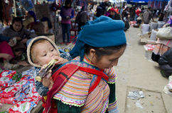 Рынок Bac Ha воскресенья (1) Стоковые Изображения