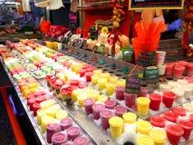 Рынок boqueria Ла - Барселона Стоковое Изображение RF
